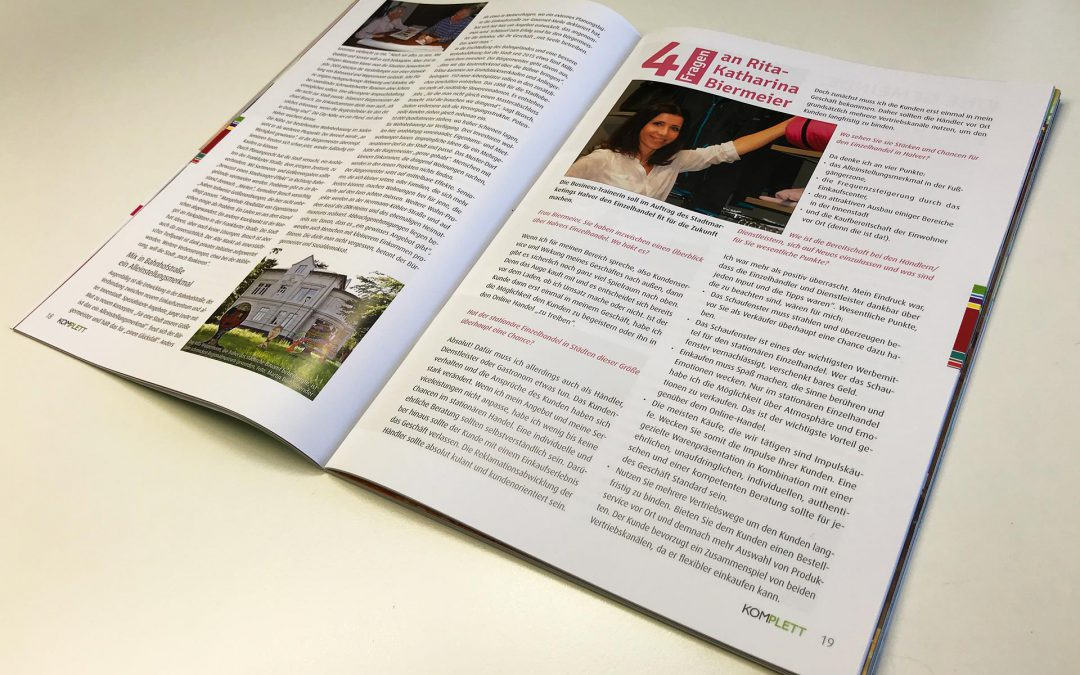 RKB sales trainings Interview Komplett Magazin