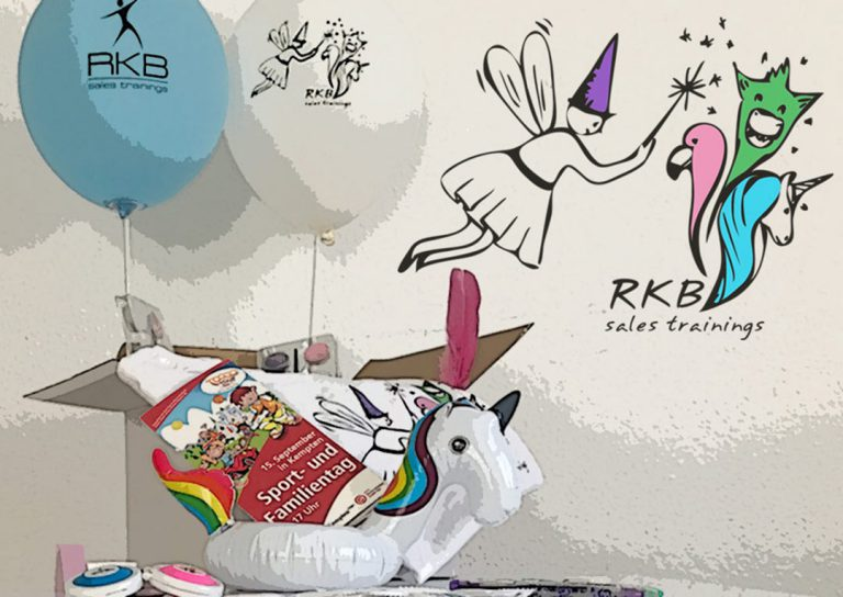 RKB sales trainings mit Verwandel-Bar beim Sport- und Familientag Kempten