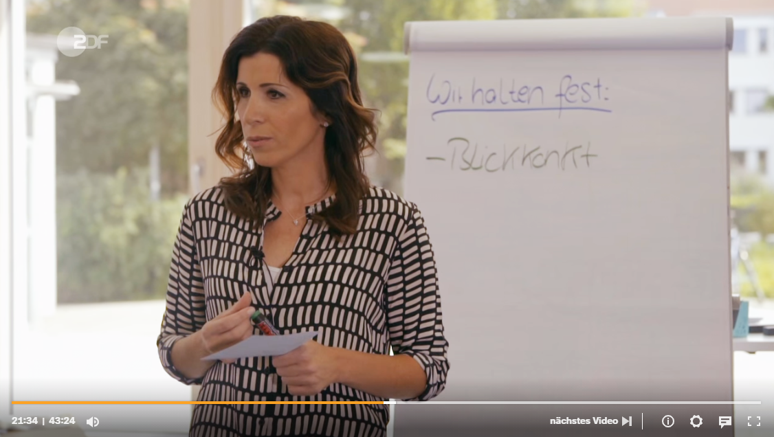 Rita Katharina Biermeier TV Beitrag bei ZDF Zeit
